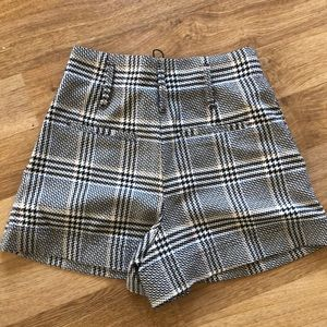 Zara Shorts - ZARA PLAID SHORTS
